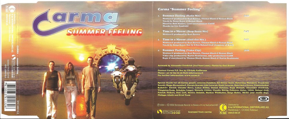 carma summer feeleing